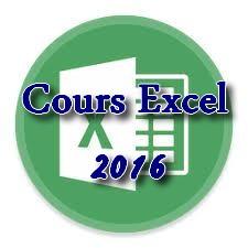 Cours Excel 2016 pour débutants